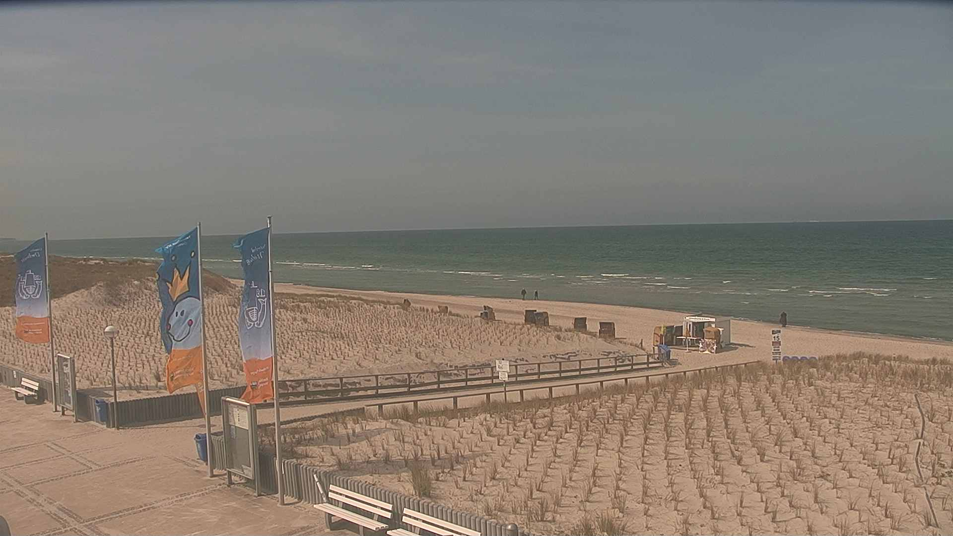 Webcam Dierhagen Strand